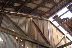 Santa laura humberstone saltpetre processing plant, iquique, chile Stock Photos