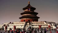 Stock Video Footage of Temple of Heaven in Beijing.China's royal ancient architecture.