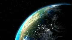 Earth - stock footage