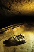 A Dark Cavern Stock Photos