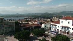 The Bay of Santiago de Cuba Stock Footage