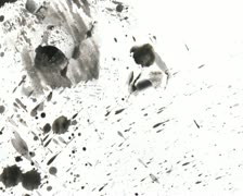 Spatter Film Texture - stock footage
