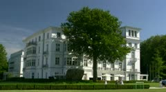 Grand Hotel Heiligendamm - Baltic Sea, Northern Germany Stock Footage