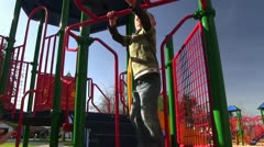 Play equipment Stock Footage