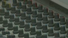 Radio station Stock Footage
