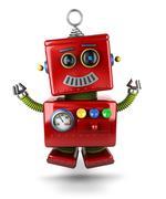 Little robot Stock Illustration