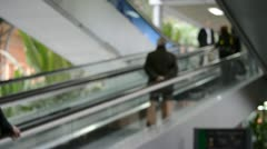 Madrid, atocha railway station Stock Footage