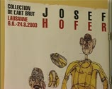 Stock Video Footage of Mentally handicapped artist, Art Brut, outsider artist Joseph Hofer