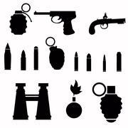 Weapon Stock Illustration