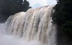 huangguoshu waterfall - stock photo