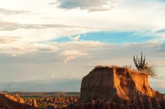 Small Desert Mesa - stock photo