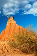 Dry Weathered Rock Formation Stock Photos