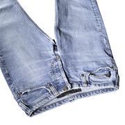 blue jeans detail - stock photo
