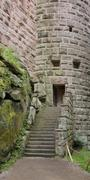 Stock Photo of entrance at the haut-koenigsbourg castle
