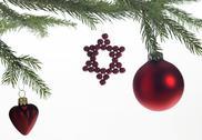 Decorative christmas back Stock Photos
