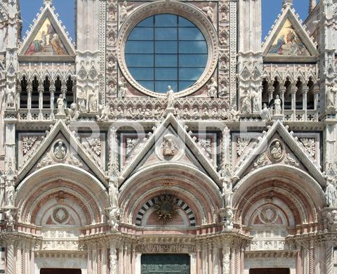 Stock photo of siena cathedral
