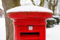 Post box lunta Kuvituskuvat