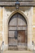 Keskiaikainen vanha ovi Kuvituskuvat