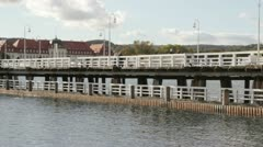 Pier in Sopot, Poland Stock Footage