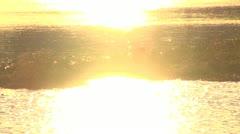 Sunset Sunrise River scenery Stock Footage