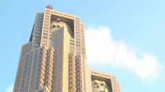 Tokyo Government Office,Sky,Cloud Stock Footage