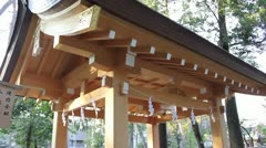 Shrine,Temple,Breeze - stock footage