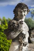 Dionysus, greek god of wine Stock Photos