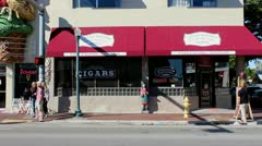 Famous cigars Stock Footage