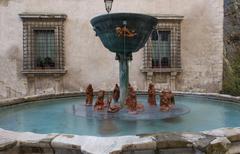 Narni fountain Stock Photos