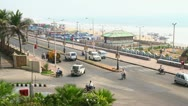 Stock Video Footage of Timelapse of Indian Street junction
