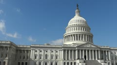 US Capitol - stock footage