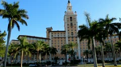 Biltmore Hotel - Coral Gables Miami Stock Footage