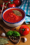 traditional tomato sauce - stock photo