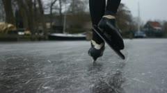 Speed skating Stock Footage