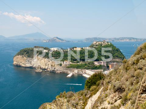 Stock photo of view of nisida - italy