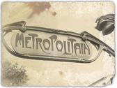 Old metro Stock Photos