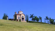 Stock Video Footage of Saint Nicholas Greek Orthodox Chapel In Rose Hills