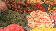Stock Video Footage of 683. colorful candy stand