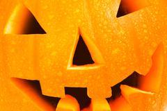 pumpkin head - stock photo