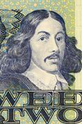 Jan Van Riebeeck Stock Illustration