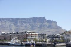 South Africa,Cape Town,Victoria And Albert Waterfront - stock photo