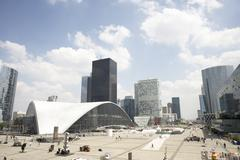 La Defense In Paris Stock Photos