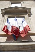 La Bourse Street Sign,Paris Stock Exchange - stock photo