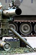 Missile launcher Stock Photos