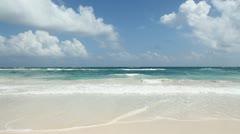 Beautiful beach. - stock footage
