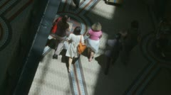 The Queen Victoria Building timelapse shoppers (1) Stock Footage