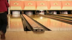 Slow bowler Stock Footage