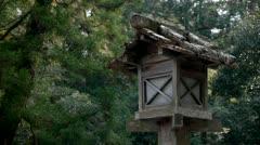 Ise Shrine Lantern Stock Footage