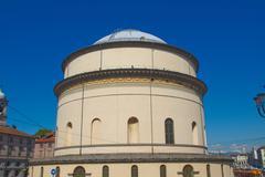 Stock Photo of gran madre church, turin