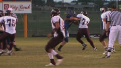 High school football 3 Stock Footage